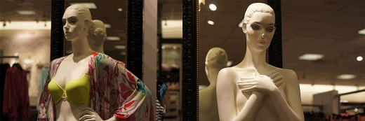 Mannequins at Work, Aventura, FL 2013