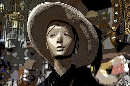 Mannequin, Vintage Boutique, Florida, 2013